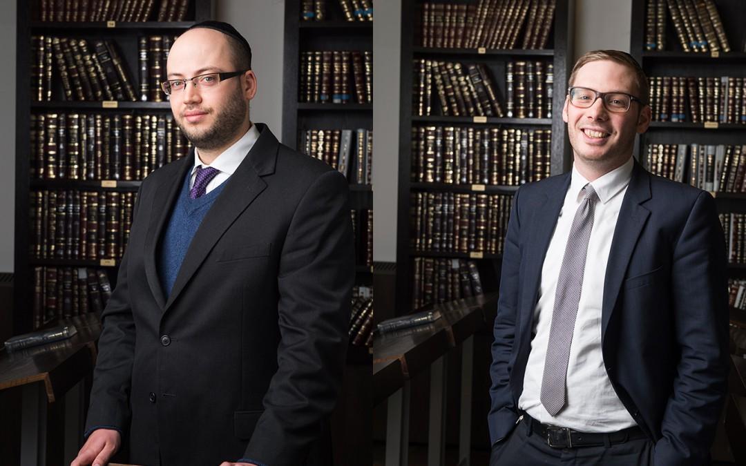 Gratulation Rabbiner Kaplan & Rabbiner Kochan