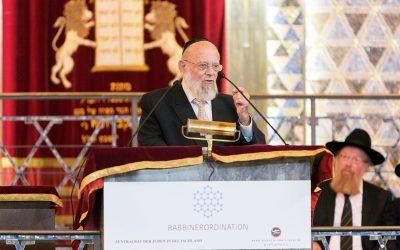 Verdienstorden der Bundesrepublik Deutschland für Dayan Chanoch Ehrentreu