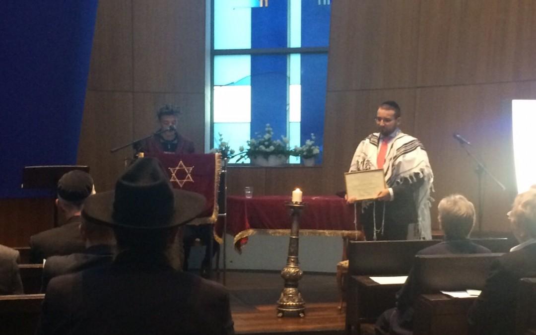 Gratulation Rabbiner Yakov Pertsovsky